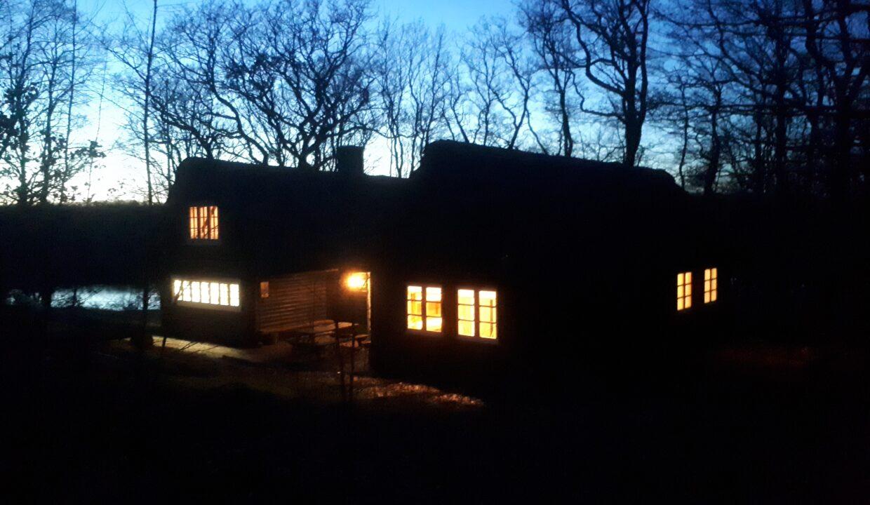 Blokhuset m lys