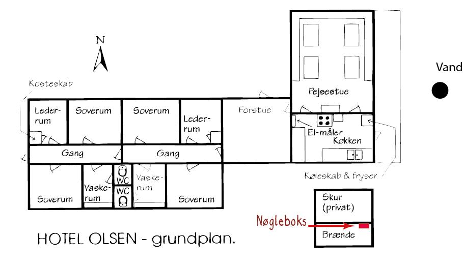 husets grundplan