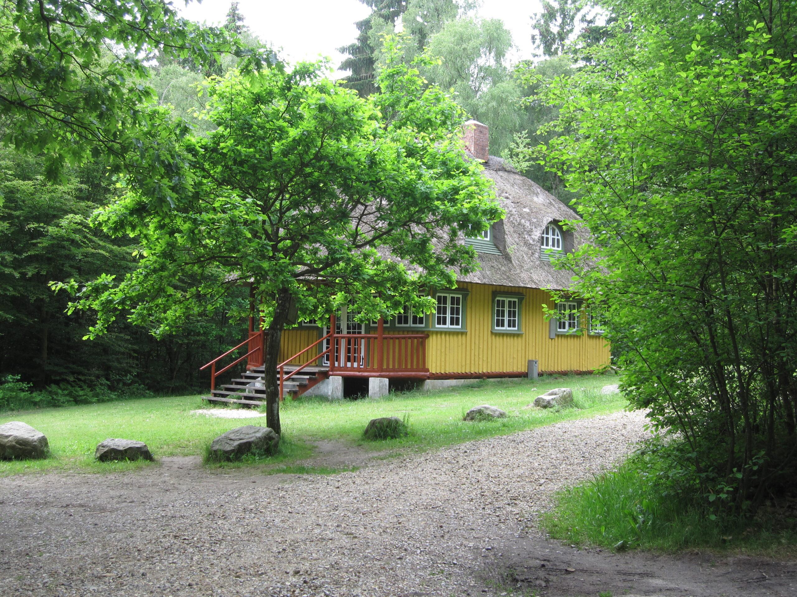 Jægerhytten i Hjermind Skov ved Bjerringbro