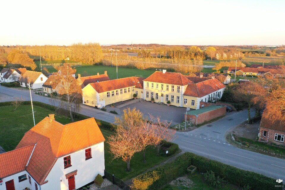 Jungshoved skole fra luften Jens Ottosen 2019