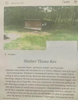 Skovhytten shelter 2