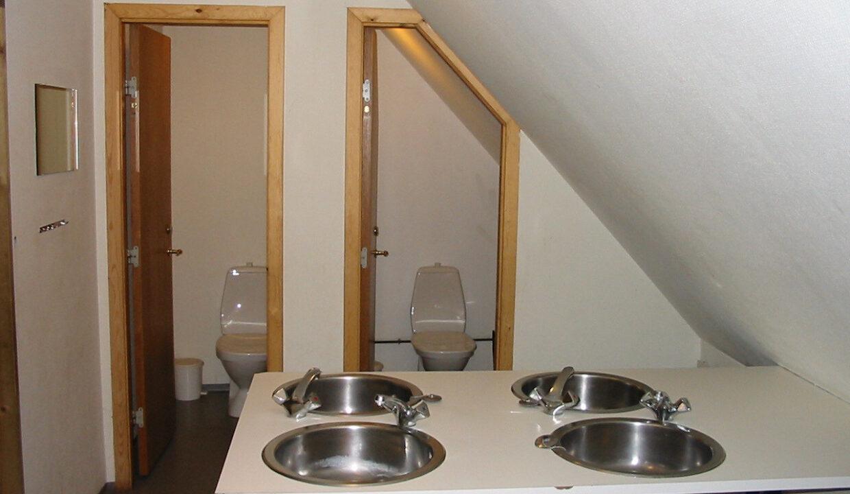 stlænge 1 sal toilet